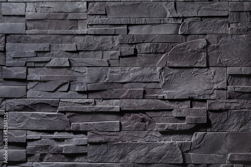 Texture of gray stone wall Fototapet