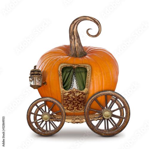 Valokuvatapetti Pumpkin carriage
