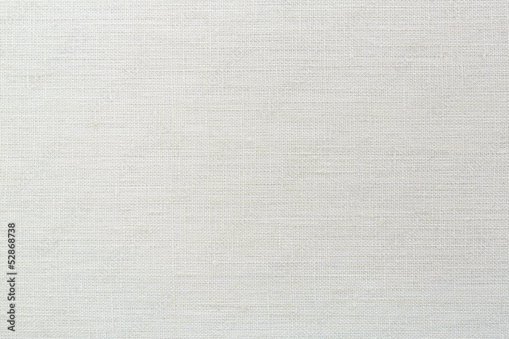 Fototapeta linen canvas white texture background