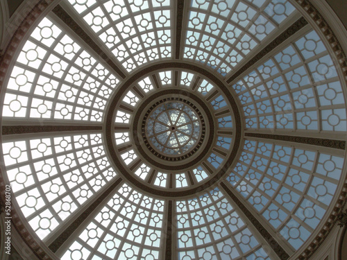 Fotografie, Obraz  Looking upward at the Old Emporium dome