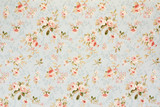 Rose floral tapestry, romantic texture background - 52869132