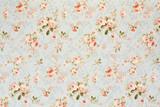 Różany kwiecisty gobelin, romantyczny tekstury tło - 52869132