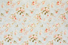 Rose Floral Tapestry, Romantic...