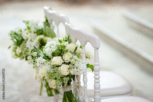 Fotografie, Obraz  Les chaises des mariés