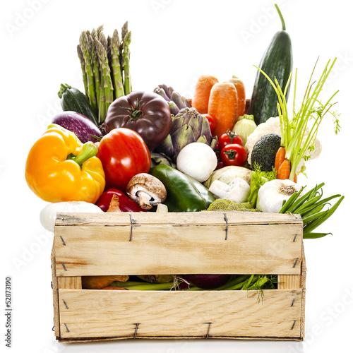 Fotografie, Obraz  Assortment of fresh vegetables