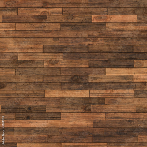 Obraz Natural wooden surface made from  dried boards - fototapety do salonu