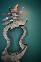 Musical Instrument  Art Statue