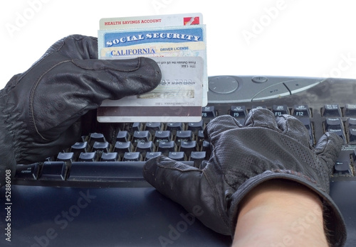 Identity theft. Tapéta, Fotótapéta