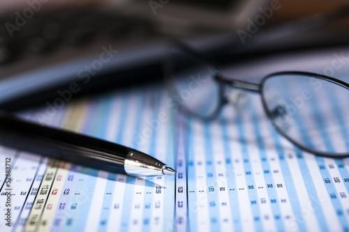 Photo Bilanzprüfung