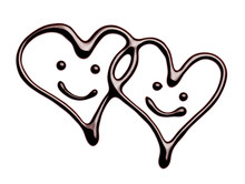 Chocolate Heart Love Valentine...