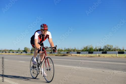 Fotografie, Obraz  Cyclist