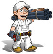 Handyman - Plumber Color it Yourself