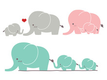Cute Elephant - Vector File EP...