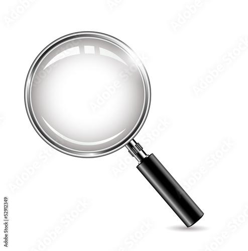 Fotografie, Tablou  metal magnifying glass