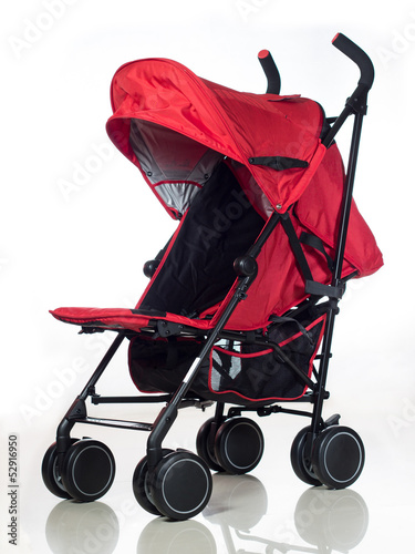 Red Stroller 1 Poster