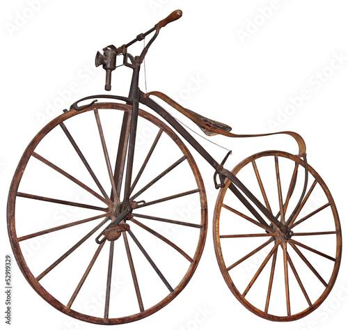 Aluminium Prints Bicycle Old bicycle