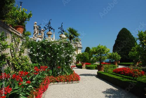 Photo  Jardins du Palais Borromée, Isola Bella, Lac Majeur, Italie