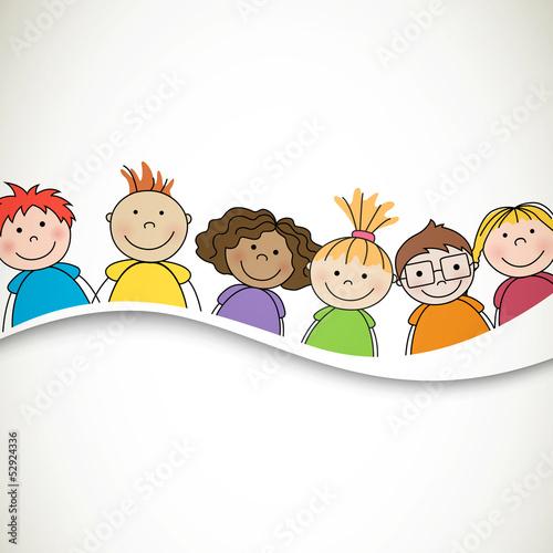 wektorowa-ilustracja-male-dzieci