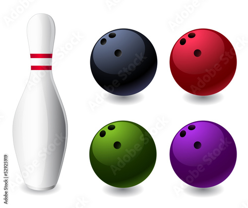 Fotografia bowling