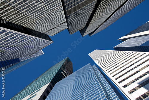 Keuken foto achterwand New York City City skyline
