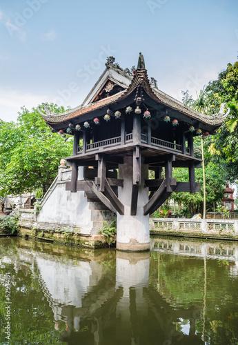 Shrine in Ho Chi min complex in Hanoi , Vietnam.