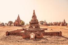 Small Pagoda In Bagan Area