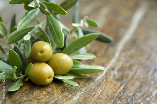 Keuken foto achterwand Olijfboom aceitunas