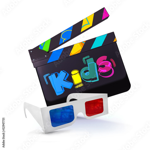 Photo  CLAP KIDS + LUNETTES 3D