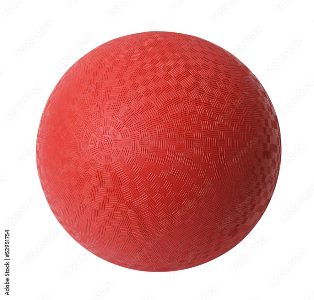 Fototapety, obrazy: Red Dodge Ball