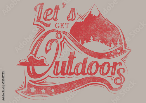 Let's get outdoors