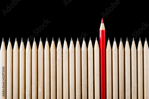 Obraz Outstanding red pencil - fototapety do salonu