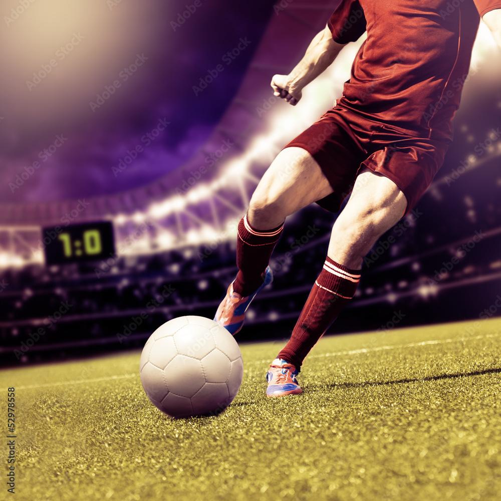 Foto-Vorhang - football game