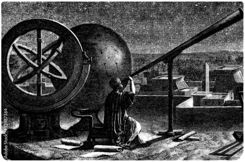 Canvas Ancien Egypt - Alexandrian Astronomer