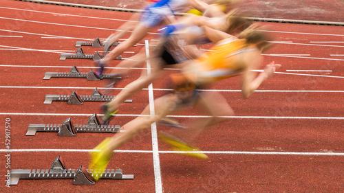 Obraz na płótnie Sprintstart