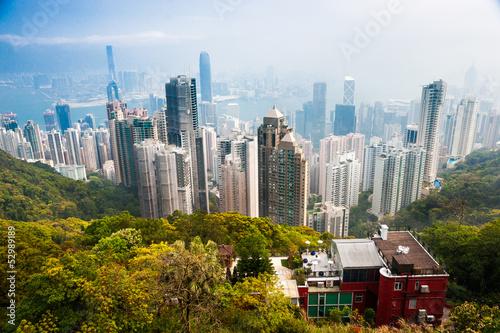 Foto auf Leinwand Hongkong Hong Kong.
