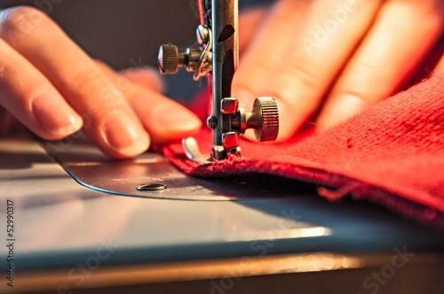 Fototapeta Sewing Process