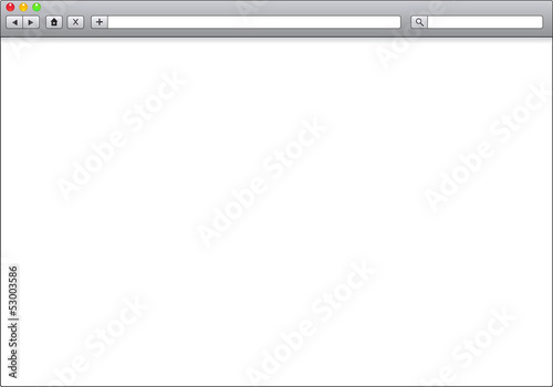 Blank Window Of Internet Browser Template Illustration Buy This