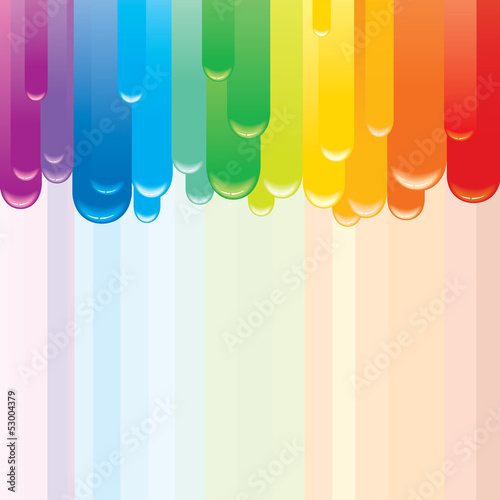 Cadres-photo bureau Carnaval Abstract Rainbow Background.