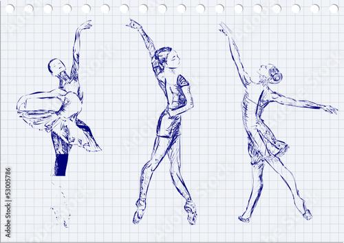 Obrazy Edgar Degas  ballet-dancers