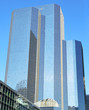 Glass building in Paris, La Defense