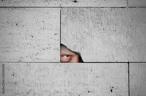 Fotografía  Stalker watching