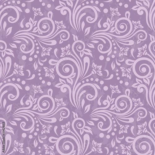 Tapeta ścienna na wymiar Seamless traditional vector wallpaper