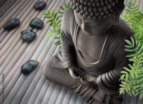Tuinposter Boeddha Buddha-Wellness
