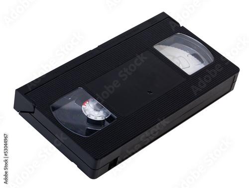 Fotografie, Obraz  Blank VHS Videotape