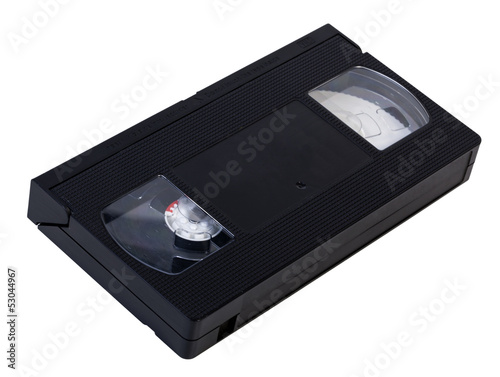 Fotografia, Obraz  Blank VHS Videotape