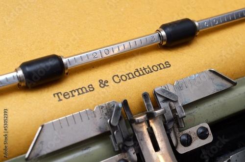 Fotografía  Terms and conditions