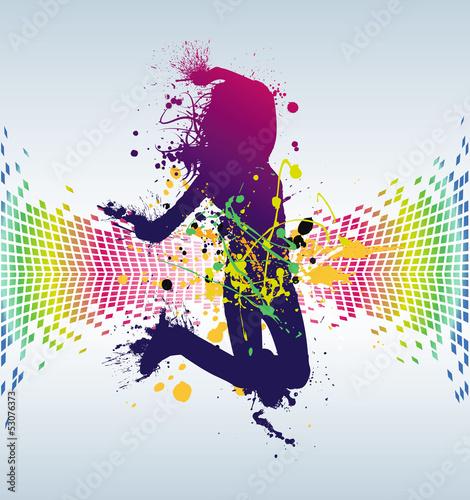 Photo danse abstrait