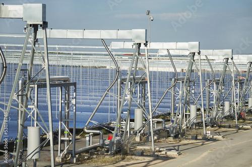 Fotografie, Obraz  Renewable Energy: Solar as the best way to produce green energy