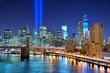 New York City and Tribute in Light