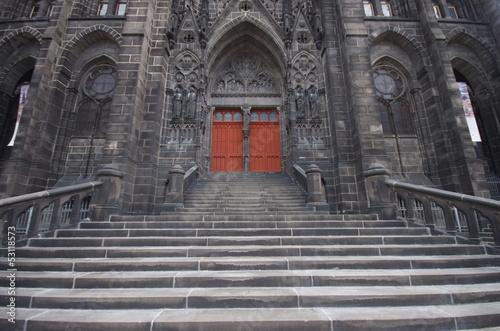 Fotografie, Obraz  Cathédrale Notre dame de l'assomption - Clermont ferrand
